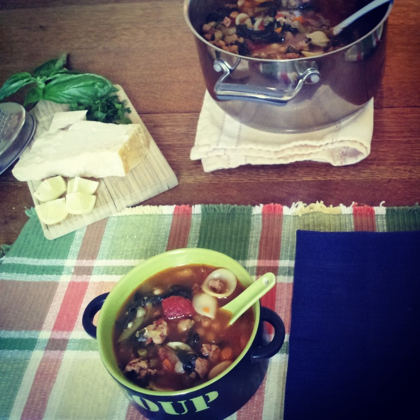 Summer Italian Sausage Soup