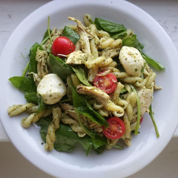 Basil pesto pasta chicken recipe