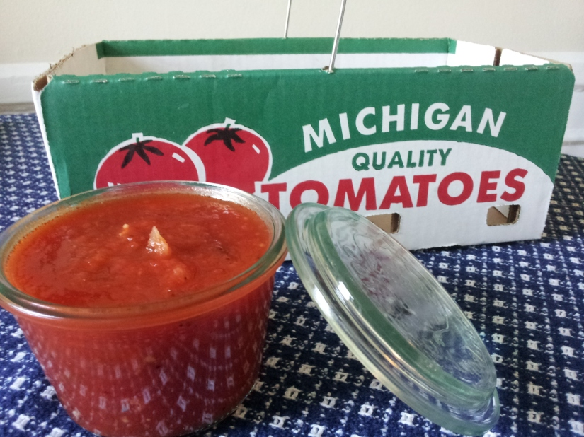 Fresh Summer Tomato Sauce