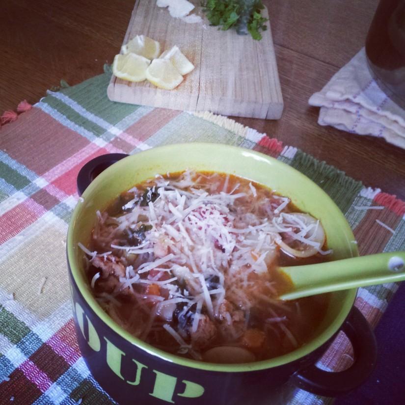 Summer Italian Sausage Soup 2
