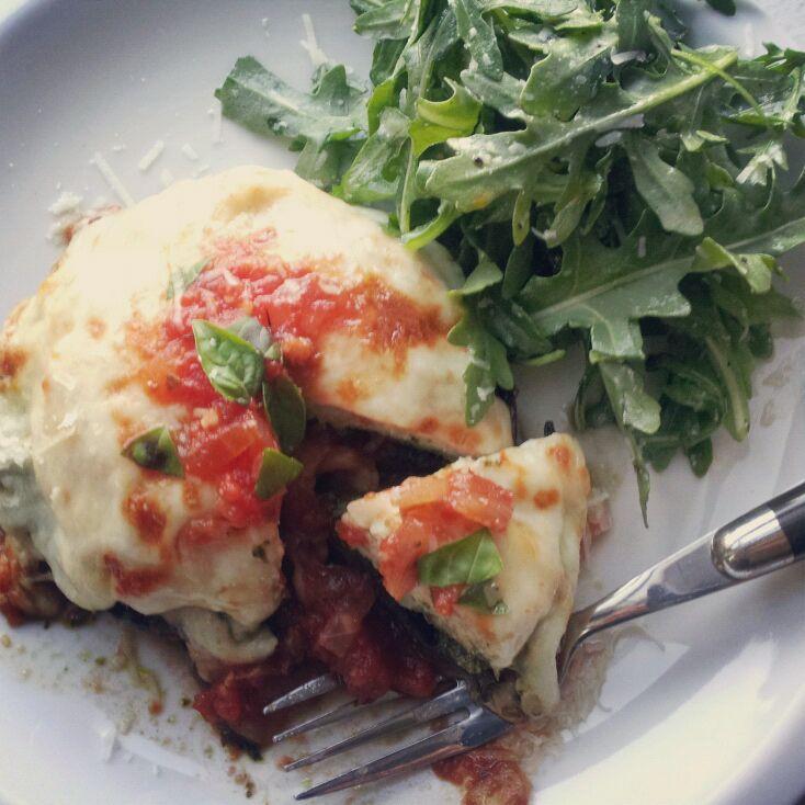 Italian Turkey Stuffed Portabella Mushroom