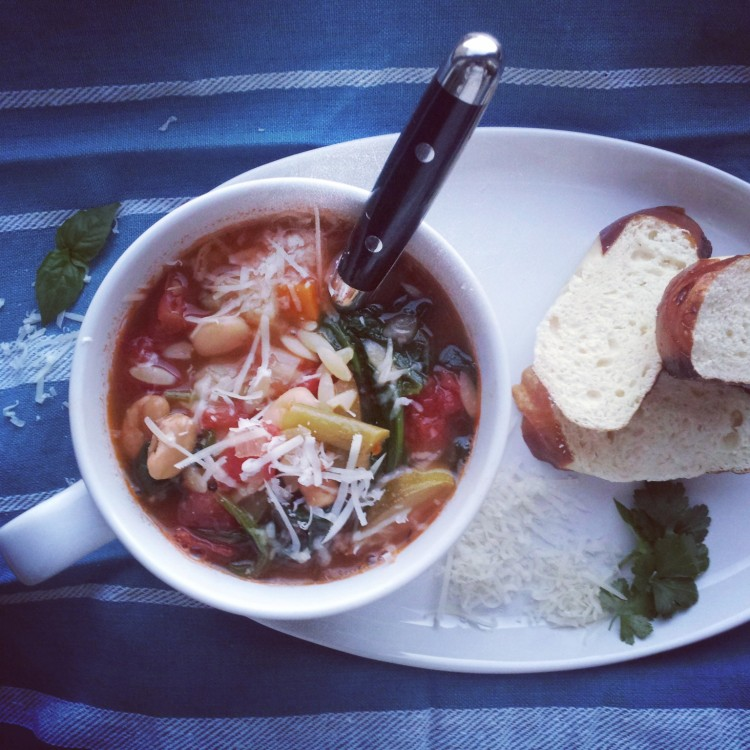 Mom's Homemade Minestrone Soup