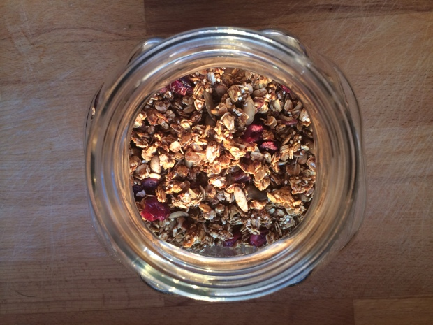 Pumpkin Maple Granola