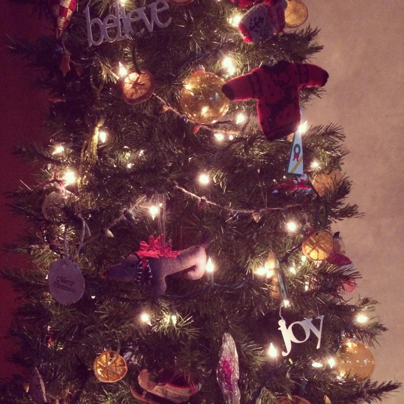 homemade citrus ornaments