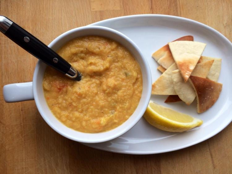 Crushed Lentil Soup