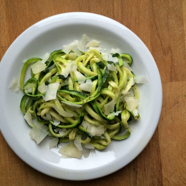 Zucchini Noodles (Zoodles)