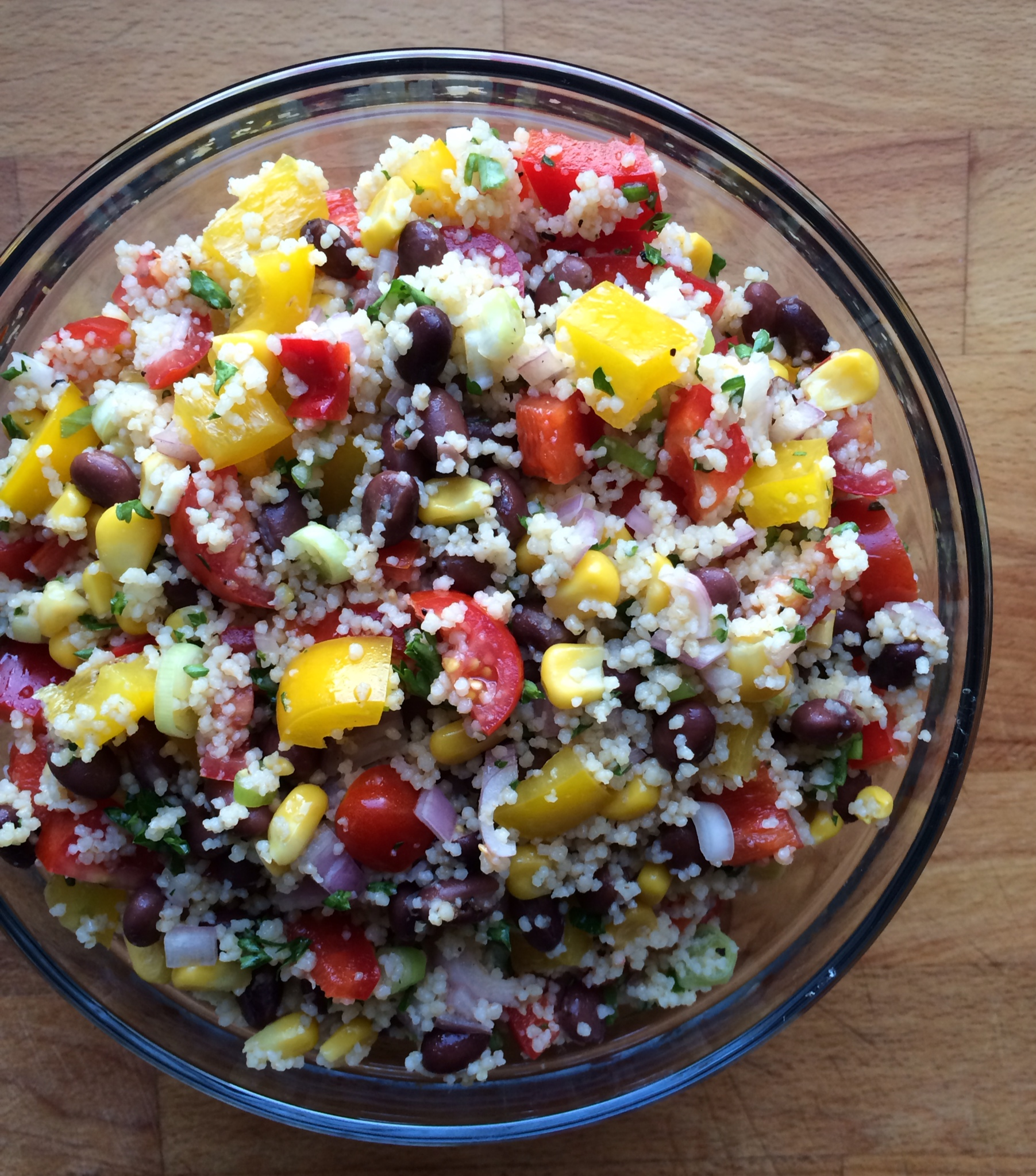 Mexican Couscous Salad Emily Always Cooks