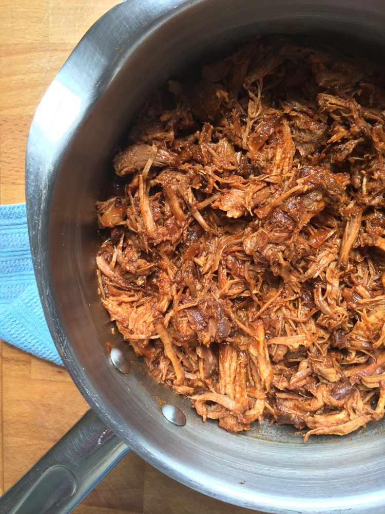 Crock Pot Pulled Pork with Buttermilk Coleslaw