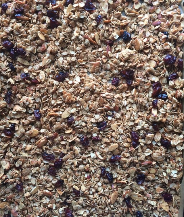 Maple Almond Granola