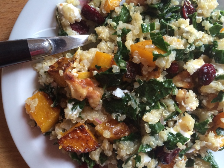 Quinoa and Kale Fall Salad
