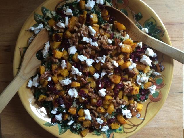 Quinoa and Kale Fall Salad