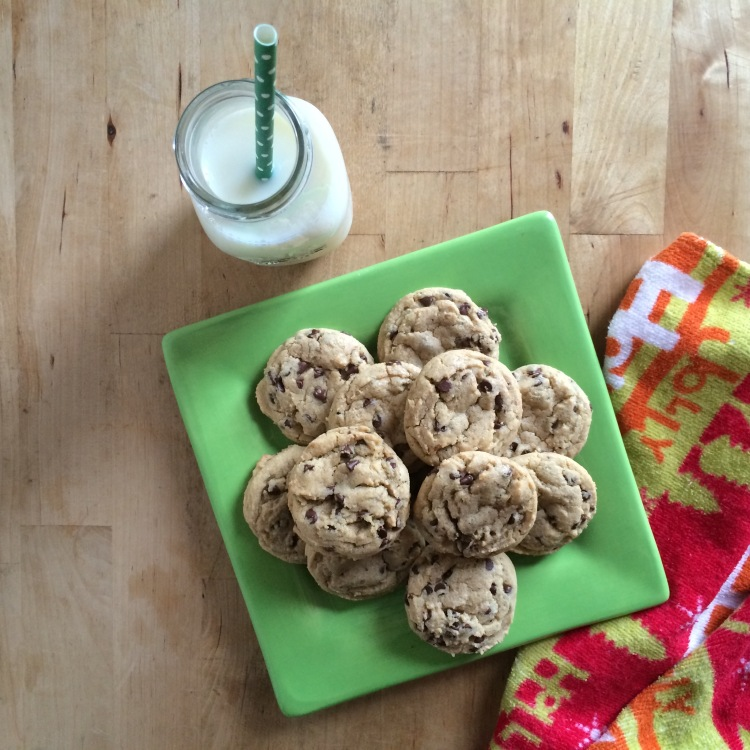 Perfectly Soft Mint Chocolate Chip Cookies