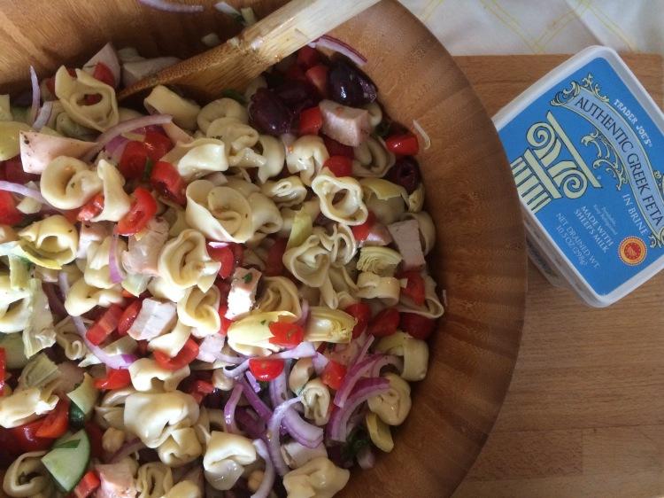 Greek Tortellini Pasta Salad3