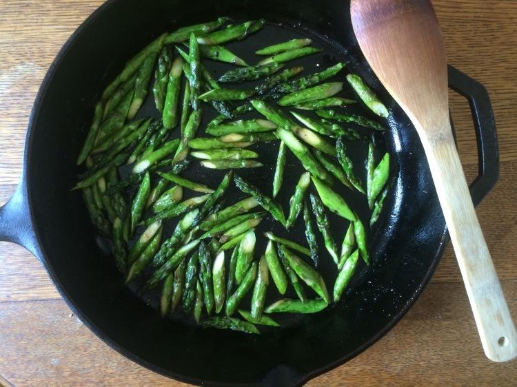 Asparagus, Egg and Bacon Salad with Dijon Vinaigrette1
