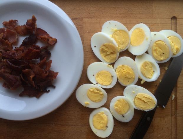 Asparagus, Egg and Bacon Salad with Dijon Vinaigrette2