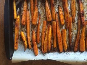 maple and harissa carrots 4