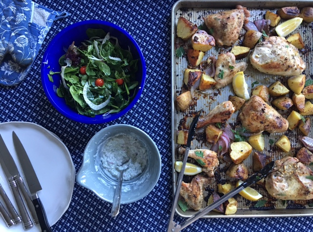 Greek Lemon Chicken and Potatoes 2